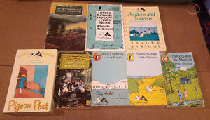 Arthur Ransome - Swallows and Amazons rare set of U.K. YA series