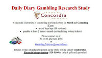 Participants for research - Smartphone Gambling Study
