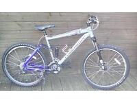 ADULT CLAUD BUTLER SHAMEN MOUNTAIN BIKE WITH 27 GEARS ,DOUBLE DISKS