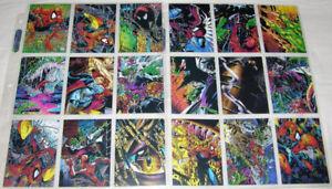 1992 Spider-Man McFarlane Era Marvel Card SET Missing P5+ # 90