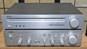 Integrated Stereo Amplifier YAMAHA A-550 + Tuner T-550