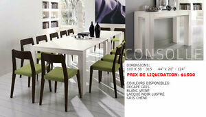 LIQUIDATION tables collection Benedetti