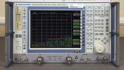 Rohde Schwarz Zvk 10 Mhz - 40 Ghz Vector Network Analyzer - Loaded Calibrated