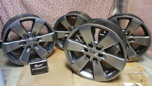 4 - 20x8.5J+44mm 6 nut Ford factory grey  take off rims