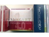 Collection of Compilation classical music CDs