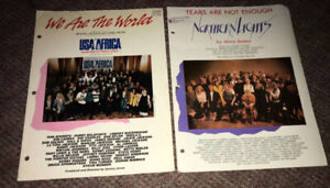 Tears Are Not Enough USA For Africa We Are The World 80's Music