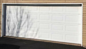 16x7 Garage Door, Insulated