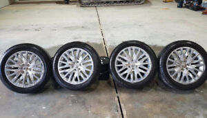 New 275/50R22 Bridgestone tires(4) GMC rims, sensors