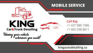 MOBILE TRUCK SHAMPOO , TRUCK DETAILING AND STEAM CLEANING