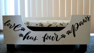 Upcycled Drawer to Pet bed.