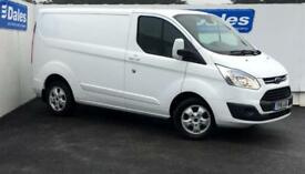 2016 Ford Transit Custom 2.2 TDCi 125ps Low Roof Limited Van 4 door Panel Van