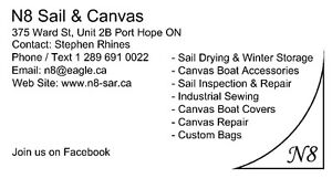 Sail Boat Sail Repair & Canvas