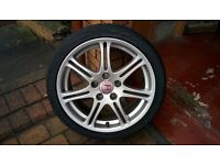 Honda civic type r ep3 17 inch alloys and tyres