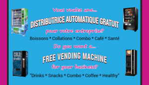 Distributrice GRATUIT - FREE Vending Machine