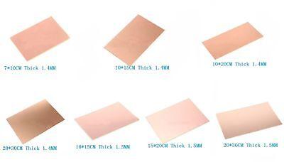 Single Sided Copper Clad Circuit Board Bakelite Fibre Glass Pcb Universal