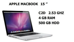 MacBook Pro 15 ,from 399$ to 799$, Office ,Logic Pro, Final Cut