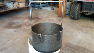 Scrap metal carts& dip baskets