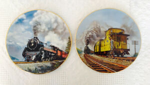 Train Collector Plates Limited Edition