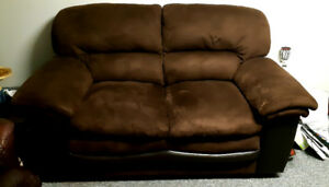 Love couch and chair for sale. In great condition!