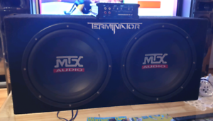 MTX Subwoofer and Amplifier