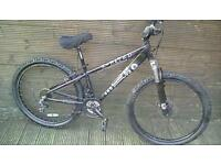 ADULT X-RATED MOUNTAIN BIKE WITH 21 GEARS AND FRONT DISK BRAKE