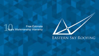 Eastern Sky Roofing Inc.10% discount promotion with limited time