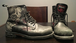 Affliction boots