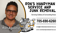 Ron's Handyman Service and Junk Removal