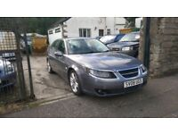 2008 SAAB 9-5 VECTOR SPORT 2.3T - ONLY 85000 MILES - FSH - FULL LEATHER - 6 SPEED - BARGAIN !!