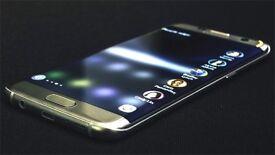 Samsung S7Edge gold