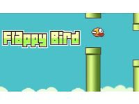Gold iPhone 6 with Flappy Bird rare game downloaded on it