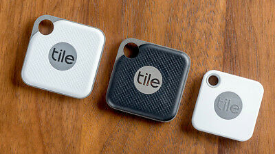 NEW Tile Mate &Tile Pro (Black & White) with Replaceable Battery Anything (Black & White Tile)