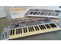 M-Audio Oxygen 49 Midi USB Keyboard