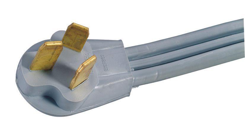 RANGE STOVE OVEN Electric Cord Male 10-50P 3-Prong Plug 220 ...