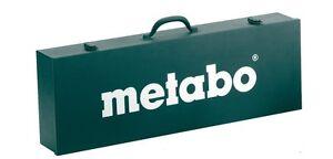 Metabo Maschinen-Koffer 700 x 250 x 110 mm - Metall-Koffer für Kehlnahtschleifer