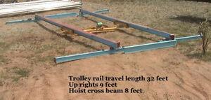 Free-Standing-Bridge-Crane-Package-28-travel-4000-frame-1-4-ton-115-vac-hoist
