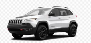 Need winter tires in rims for 2018 Jeep Cherokee Trailhawk