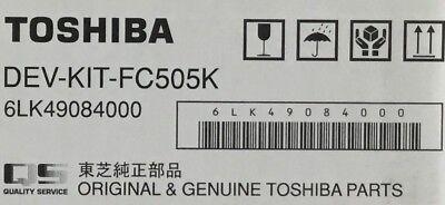 TOSHIBA BLACK DEVELOPER DEV-KIT-FC505K PART 6LK49084000 e-STUDIO 5005AC SERIES