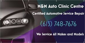 TIRE SEASON SPECIALS ($60) ONLY AT M&M AUTO CLINIC!!