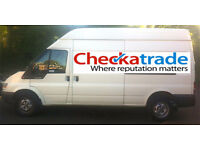 From £20 per job. Man & van. CHECKATRADE MEMBER (9.92/10). High quality service and fully insured.