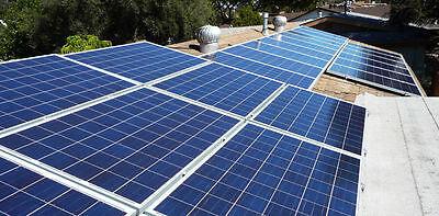 Solar Panel Starter Kit for Home Grid DIY Roof Install