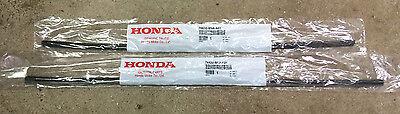 Genuine OEM Honda Civic 4dr Wiper Insert Rubber Pair Front 2006 2007 Inserts Set