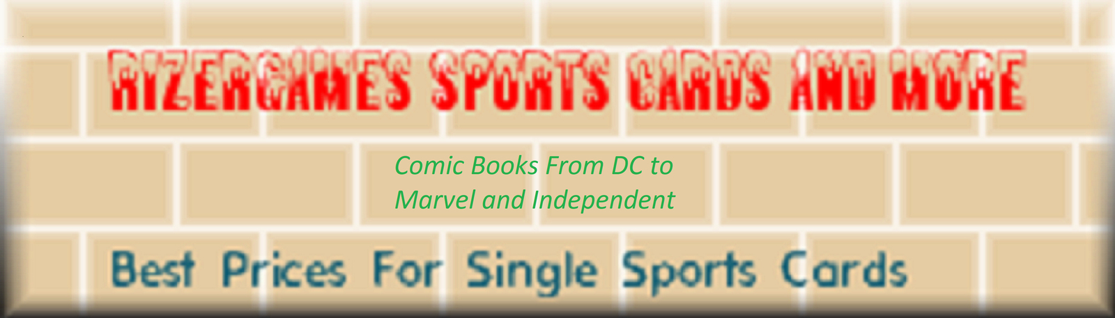 Rizergames Sports Cards and Comics