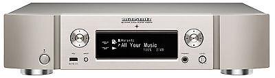 Marantz NA 6005 Netzwerk-Audioplayer silbergold WLAN Bluetooth Ethernetanschluss Netzwerk-audio