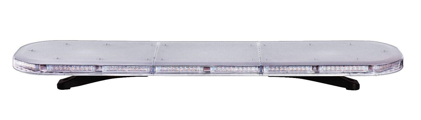 Warnleuchte  Warnbalken ROADLIGHT 56 LED Magnet 595 12V 24V 4x Magnetunterlage