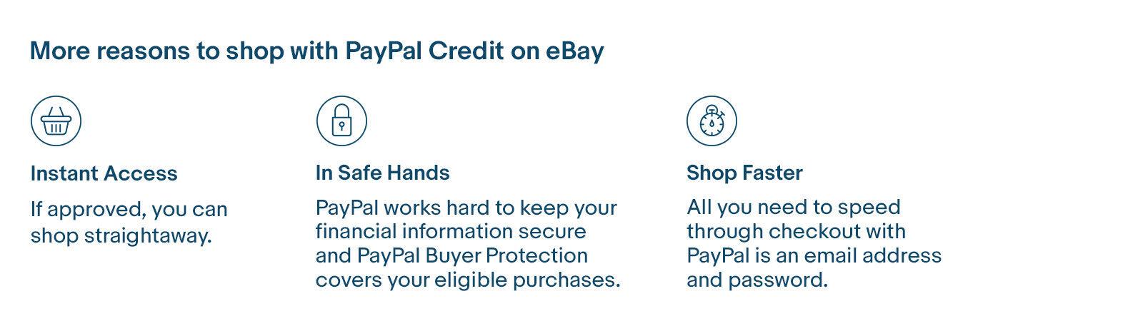 PayPal Credit | eBay