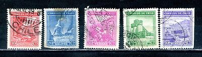 CHILE -1938 to 1940 five industry & agriculture used