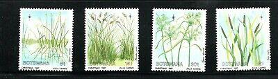 1987 Botswana  Christmas grasses, plants set of 4 UM