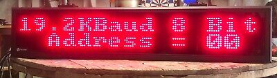 Vorne Industries Programmable Led Electronic Scrolling Message Display Sign