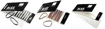 BLAX - Snag Free Hair Elastics 2mm(12 cnts)  /  4mm (8cnts)   --  FREE (2 Mm Hair Elastics)